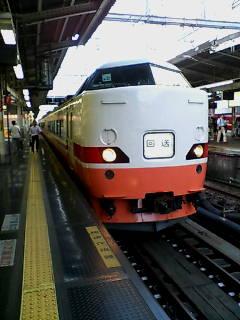 横浜駅5番線にて クハ189-511