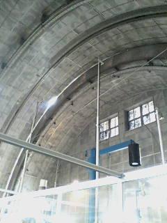 自動光電子午環(<br />  建物内部)