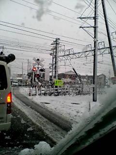 茅ヶ崎は雪〜