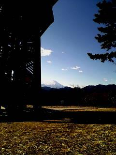 菜の花台の富士山