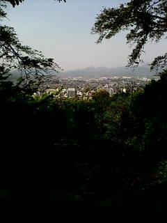 浅間山からの秦野盆地