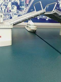 勝鬨橋模型(1/100)
