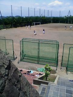 高校野球の練習